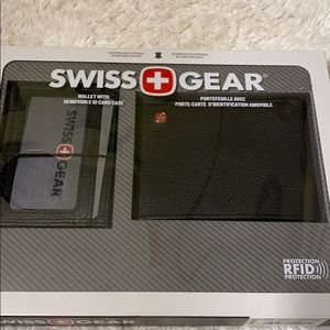 Swiss Gear wallet removable case RFID protection